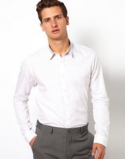 ASOS Smart Shirt With Collar Detail