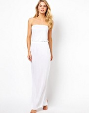 ASOS Bandeau Jersey Maxi Beach Dress