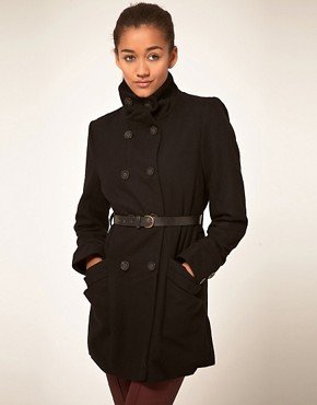 Image 1 ofVila Double Breasted Coat