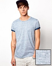 ASOS T-Shirt With All Over Reverse Print