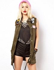 Voodoo Girl Denim Gilet