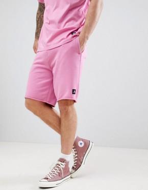 Converse Essentials Cut-Off Shorts In Pink 10003347-A09