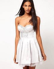 ASOS Skater Dress with Jewels