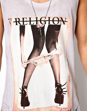 Image 3 of Religion Vest