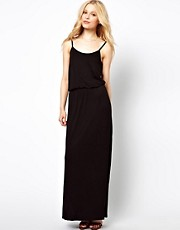 River Island Waisted Maxi Dress