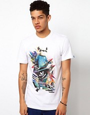 Camiseta con estampado de panda de Adidas Originals