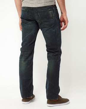 Image 2 ofDiesel Jeans Waykee Regular Fit 0808H Green Cast Wash