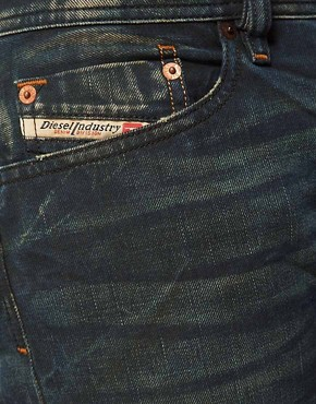 Image 3 ofDiesel Jeans Waykee Regular Fit 0808H Green Cast Wash