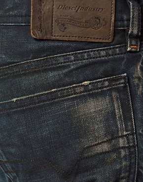 Image 4 ofDiesel Jeans Waykee Regular Fit 0808H Green Cast Wash