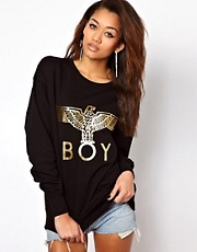 BOY London Gold Eagle Sweatshirt