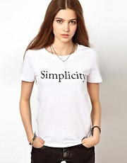 A Question Of &ndash; Simplicity &ndash; T-Shirt aus Bio-Baumwolle