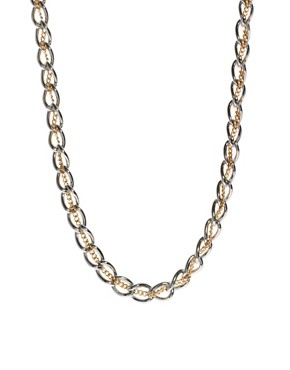 Image 2 of ASOS Chain Thread Necklace