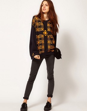 Image 4 ofA Question Of Patterned Organic Sweatshirt