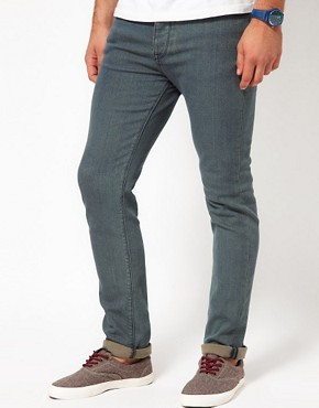 Image 1 ofASOS Skinny Jeans With Blue Tint