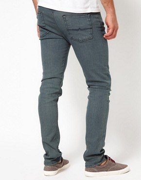 Image 2 ofASOS Skinny Jeans With Blue Tint