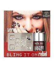 Nails Inc Bling It On Rebel