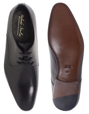 Image 3 ofRolando Sturlini Leather Derby Shoes
