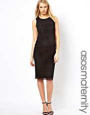 ASOS Maternity Exclusive Midi Lace Dress