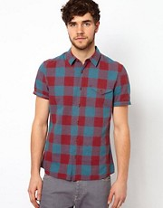 ASOS Shirt With Buffalo Check