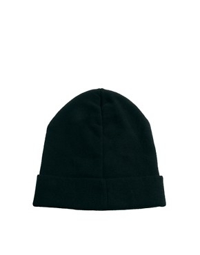 Image 4 ofASOS Cross Stud Boyfriend Beanie