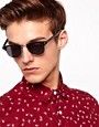 Image 1 ofASOS Clubmaster Sunglasses