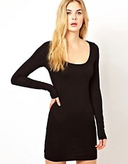 Vila Bodycon Dress with Long Sleeve