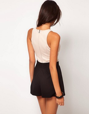 Image 2 ofLipsy Embellished Top Playsuit
