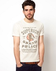 Polo Ralph Lauren T-Shirt with Indian Head Print