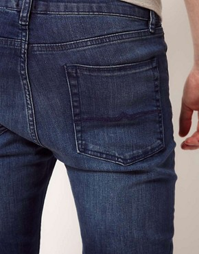 Image 4 ofASOS Super Skinny Jeans With Blue Wash