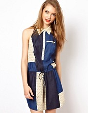 Viva Vena Chinati Patchwork Dress