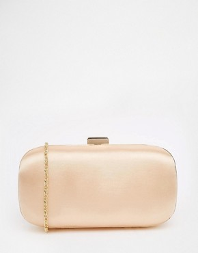 ASOS Satin Box Clutch Bag