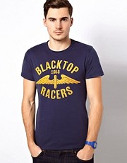 Jack &amp; Jones T-Shirt with Racer Print