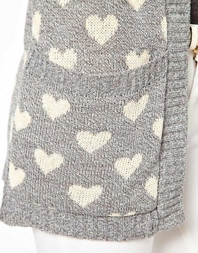 Image 3 ofClub L Heart Cardigan
