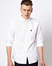 Lyle &amp; Scott Vintage Oxford Shirt with Eagle Logo