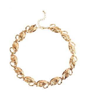 Image 1 of ASOS Swan Link Necklace
