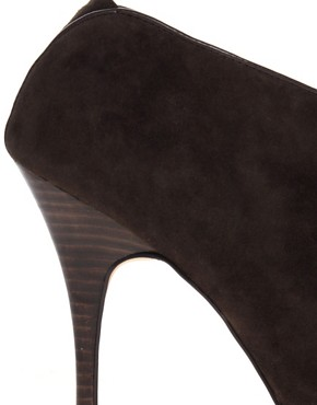 Image 2 ofDiavolina Remy Suede Peep Toe Shoe Boot
