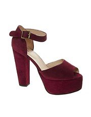Ganni Platform Berry Sandals