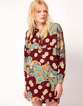 Image 1 ofYMC Japanese Print Jar Dress