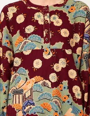 Image 3 ofYMC Japanese Print Jar Dress