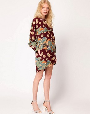 Image 4 ofYMC Japanese Print Jar Dress