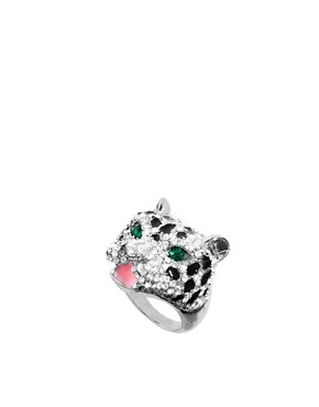 Image 1 ofASOS Panther Ring