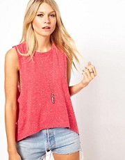ASOS Cropped Neppy Vest