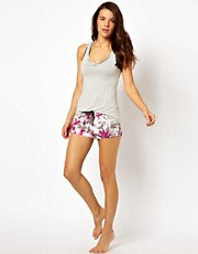 Culotte estilo boxer Night Jungle de Elle Macpherson Intimates