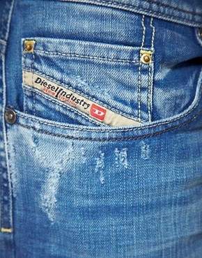 Bild 3 von Diesel  Larkee  Locker geschnittene, gerade Jeans