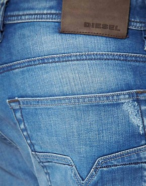 Bild 4 von Diesel  Larkee  Locker geschnittene, gerade Jeans