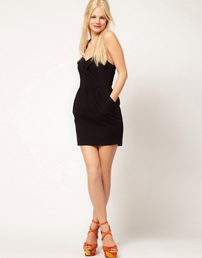Image 4 ofASOS Summer Dress With Halter Neck In 50&#39;s Shape