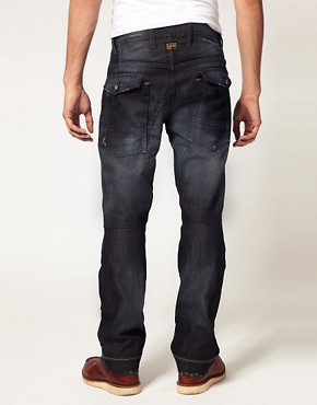 Image 2 ofG Star General Elwood Tapered Jeans