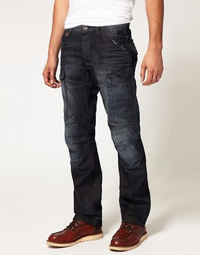 Image 1 ofG Star General Elwood Tapered Jeans