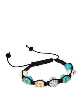 Image 1 ofRiver Island Skull Friendship Bracelet