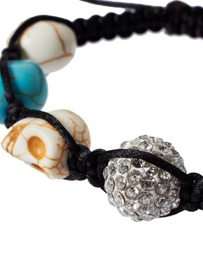 Image 4 ofRiver Island Skull Friendship Bracelet